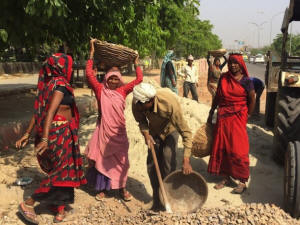 In India, close to a million Dalit women work as manual scavengers: labourers who are forced to empty out dry latrines with their bare hands. Photo: Neeta Lal/IPS